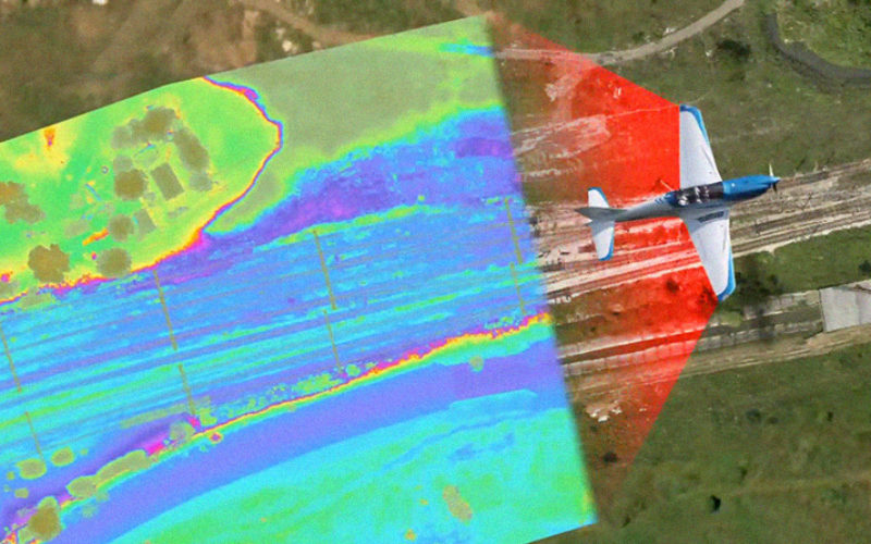 Aerial LiDAR Survey of Rail Corridor Between Mumbai and Ahmedabad