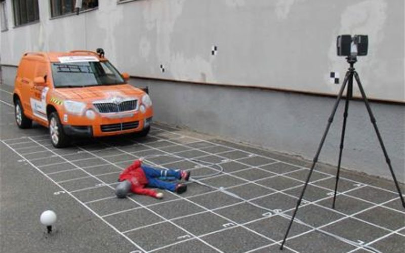 3D Mapping to Investigate Traffic Accident Cases