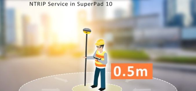 Enjoying the High-Accuracy Positioning with the Latest SuperPad 10