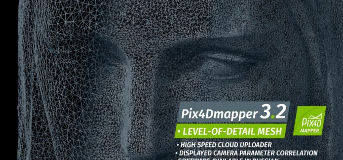 Pix4Dmapper 3.2 Now Generates Tiled Level-of-Detail (LoD) Mesh