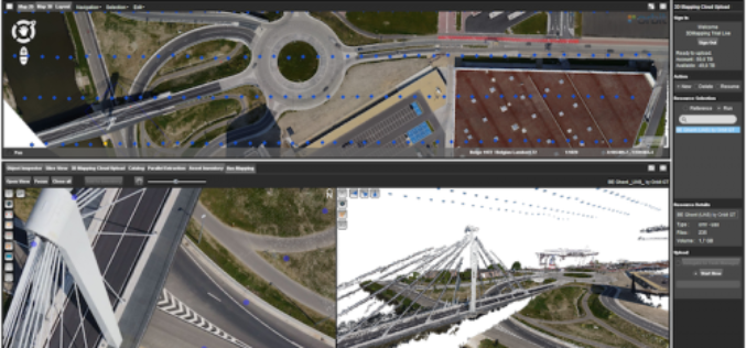 Orbit GT Releases UAS Mapping v17.1 With Cloud Upload Feature at UAV EXPO, Brussels