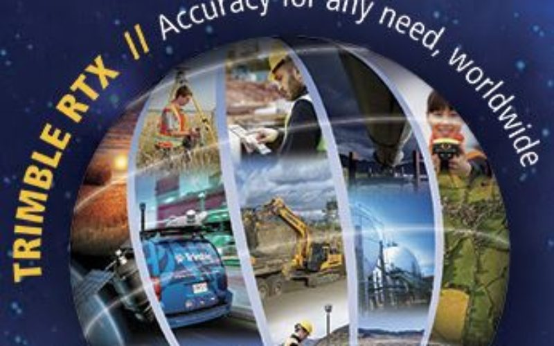 Trimble Expands CenterPoint RTX FAST Correction Service in North America and Europe