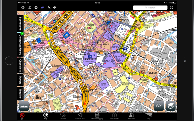 Emergency Services: Airbox and A-Z Maps Partnership