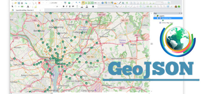 Embrace GeoJSON Format Together with SuperGIS Desktop