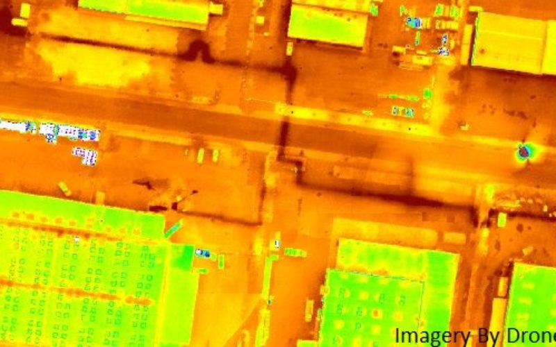 Icaros and TeAx Announce an Integrated Drone Mapping Solution for Radiometric ThermalCapture (FLIR core) Sensors