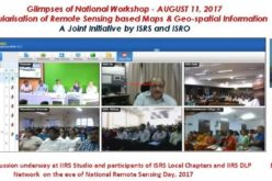 National Workshop on Popularisation of Remote Sensing Based Maps and Geo-spatial Information