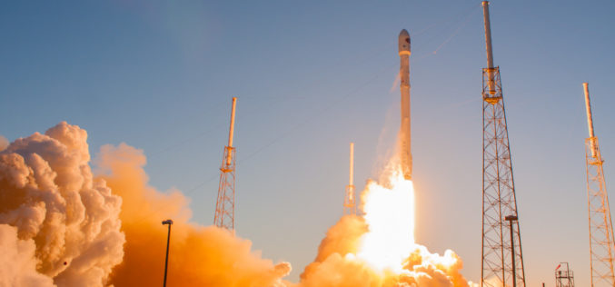 SpaceX Falcon 9 Successfully Launched Taiwan's Formosat-5