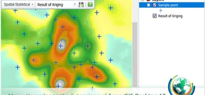 Upgraded Extensions of SuperGIS Desktop Provide More Insights