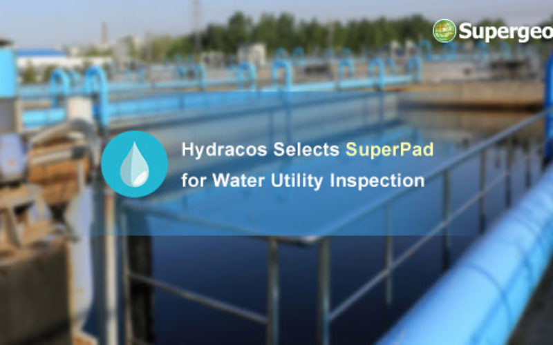 Hydracos Selects SuperPad for Water Utility Inspection