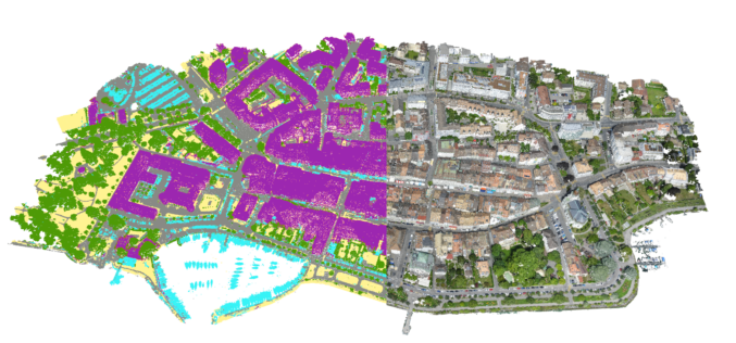 Pix4D Announces Machine-Learning Point Cloud Classification