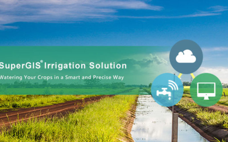 Supergeo Partners with Agricultural Engineering Research Center to Develop Irrigation Solution