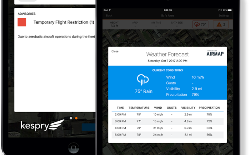 AirMap and Kespry Partner for Safe, Compliant Drone Flights