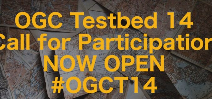 OGC Announces European Space Agency Invitation to Tender for Testbed 14 Thematic Exploitation Platforms