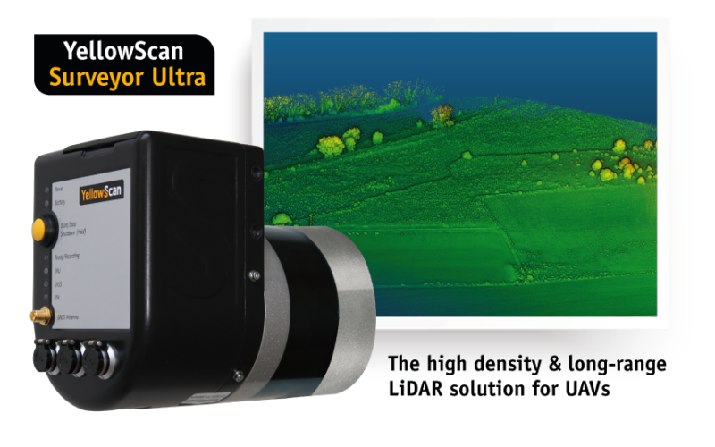 YellowScan Unveils Its New UAV-LiDAR System