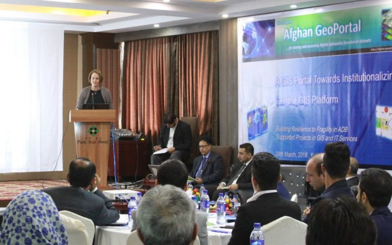"Asian Development Bank and the Govt of Afghanistan Launched ""Afghan GeoPortal"" to Improve Data Access, Sharing"