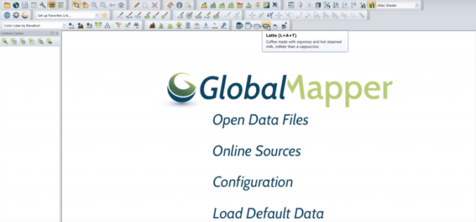 Update to Global Mapper Now Available with New Coffee-Making Toolbar