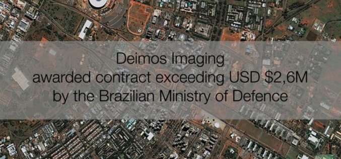 Deimos Imaging Awarded Contract Exceeding USD $2,6M By The Brazilian MoD