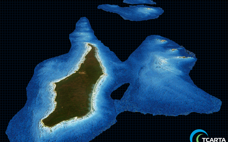 TCarta Delivers Satellite Derived Bathymetry Data to Total for Hydrocarbon Exploration Project