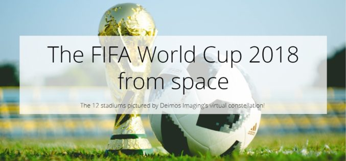Construction of the FIFA World Cup Stadiums From Space