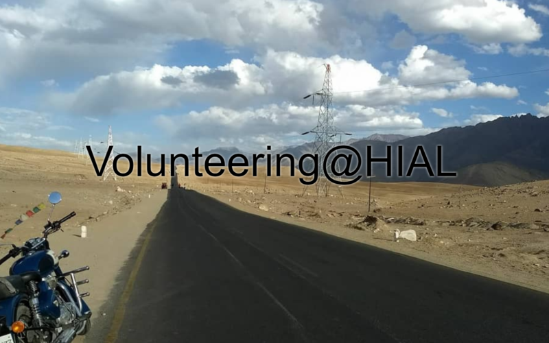 Story Map on Volunteering at Himalayan Institute of Alternatives, Leh