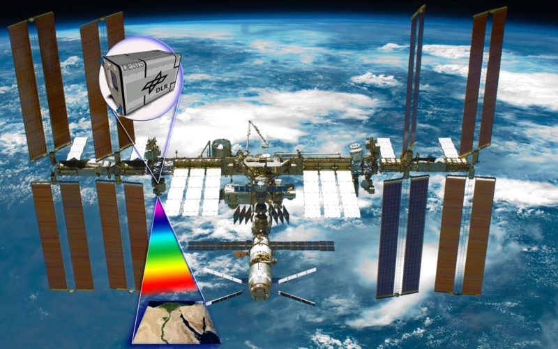 Installation of DLR's Hyperspectral Camera in Space – DESIS Gets its Own Spot on the International Space Station