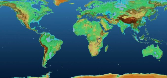 Global 3D Elevation Model From The TanDEM-X Mission Now Freely Available