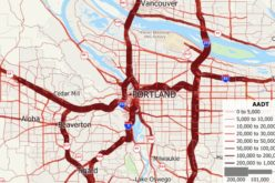 Free U.S. Traffic Count Data for Use with Maptitude 2018 Mapping Software