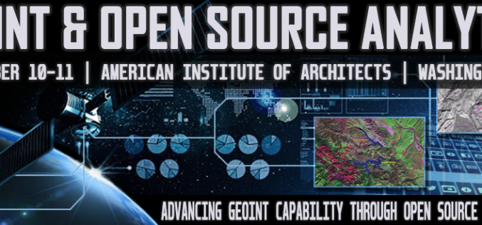 4th GEOINT & Open Source Analytics Summit