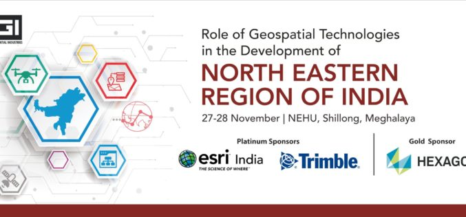"AGI and NEHU are Organizing a Conference On ""Role of Geospatial Technologies in the Development of North Eastern Region of India"", Bringing Together the Largest Pool of Geospatial Stakeholders in the NE Region"