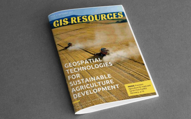 3rd Edition of GIS Resources Magazine:Geospatial Technologies for Sustainable Agriculture Development