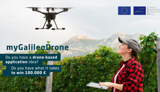 """MyGalileoDrone Competition 2020"" Submission Open!"