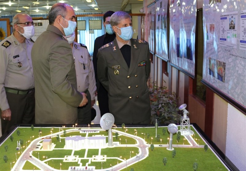Iran Unveils Military Geographic Products