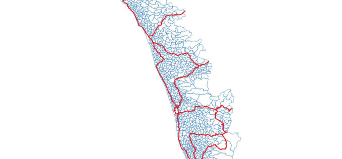 OSM Kerala Community Releases Local Body Boundary Map of Kerala