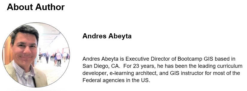 Andres Abeyta is Executive Director of Bootcamp GIS