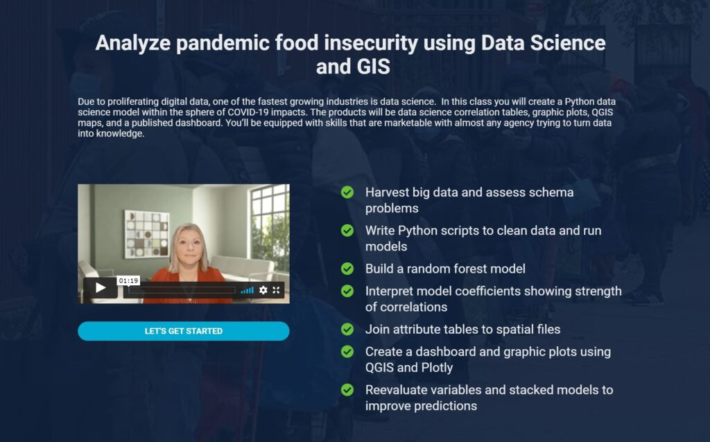 Launch of New GIS and Data Science Course on Bootcamp GIS